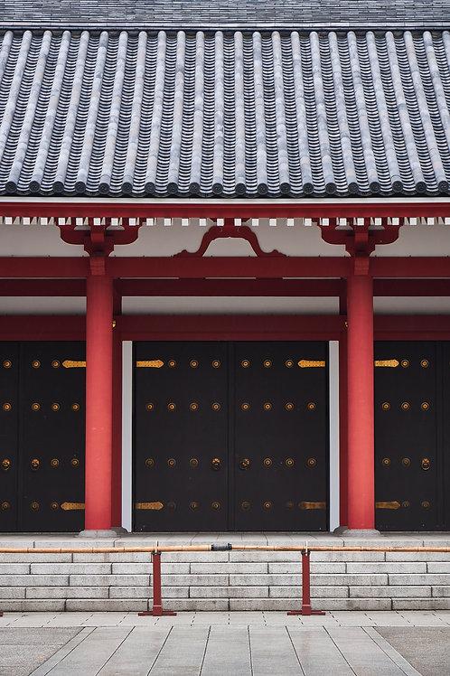 Senso-ji Pagoda entrance -Red series Japan