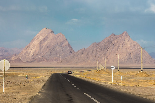 Road to Chak Chak