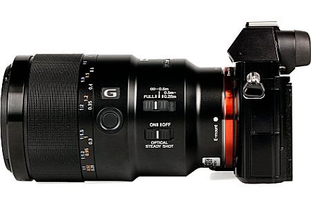 Ful frame mirroless camera with macro lens