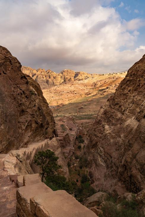 Cliffs of Petra
