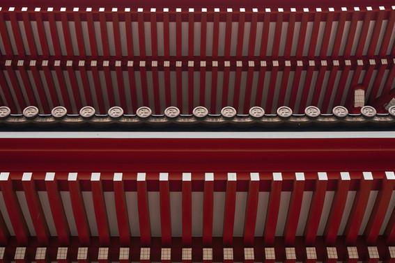 Senso-ji Lines - Red Series Japan