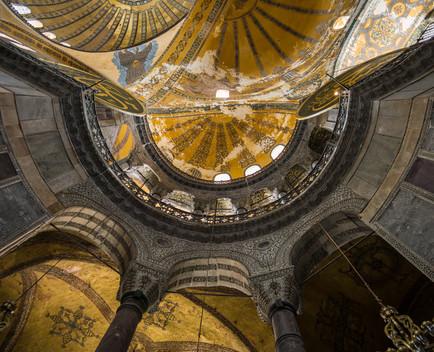 Hagia Sophia terrace, Istanbul, Turkey
