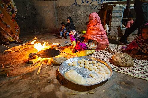 Traditional dinner at Hormuz