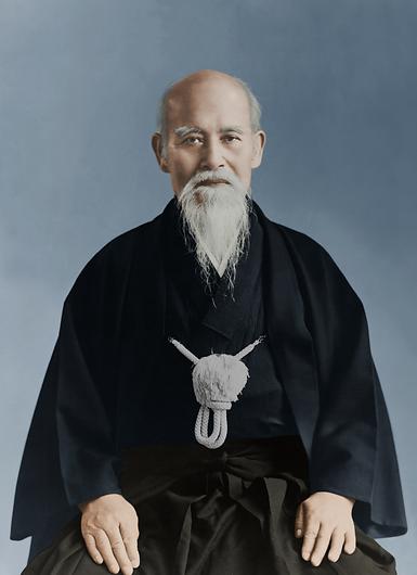 О'сенсей - създателят на Айкидо