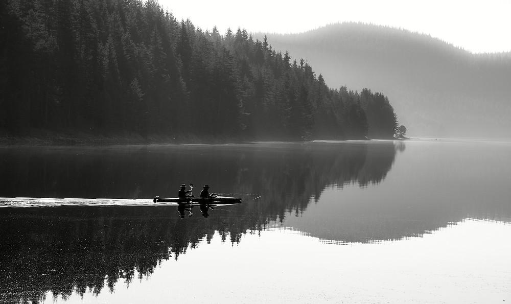 Fishermen racing the shadows
