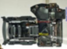 SLR side , cut trough view