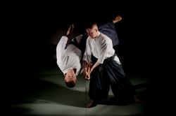 Тренировки по айкидо - котегаеши