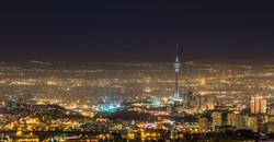 Tehran by night