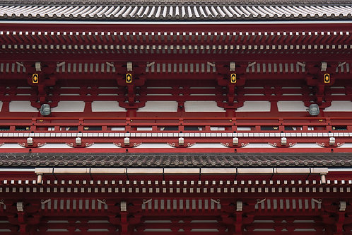 Senso-ji -Red series Japan