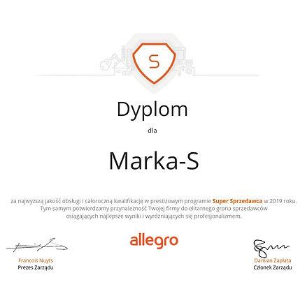 Dyplom dla Super Sprzedawcy Marka-S (1)_