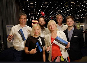Votemo was representing Estonia in CBC Global Finals - The Olympics for Startups