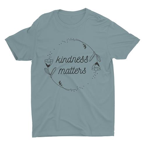 Kindness matters unisex tshirt
