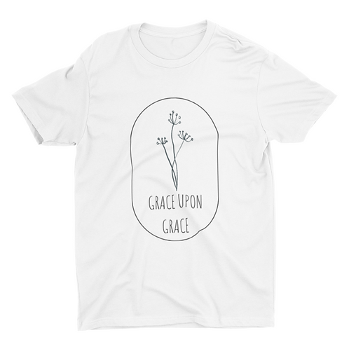 Grace upon grace unisex tshirt