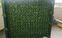 Декоративна мрежа върху оградни пана