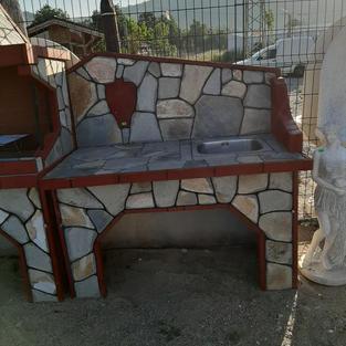 Сет за лятна градина - Мивка