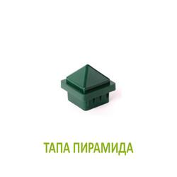 piramida tapa za ograden kol