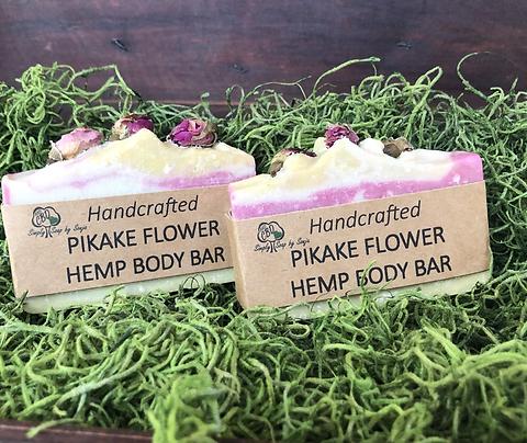 Pikake Flower Hemp Body Bars