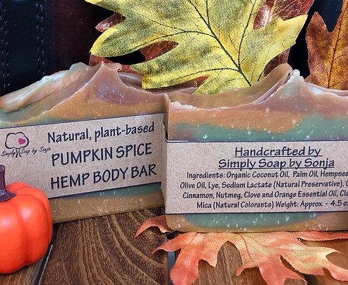 Pumpkin Spice Hemp Body Bar
