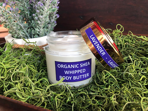 Lavender and Shea Whipped Body Butter