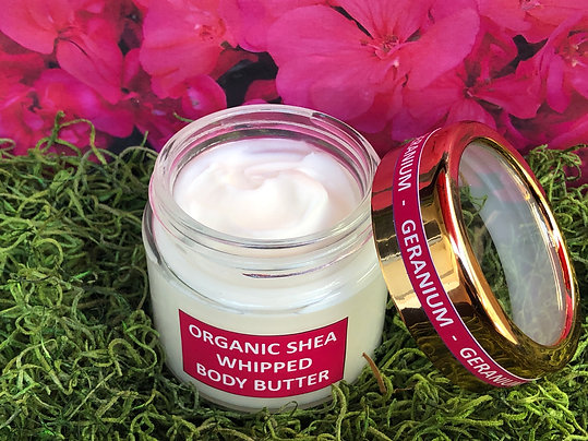 Geranium and Shea Whipped Body Butter