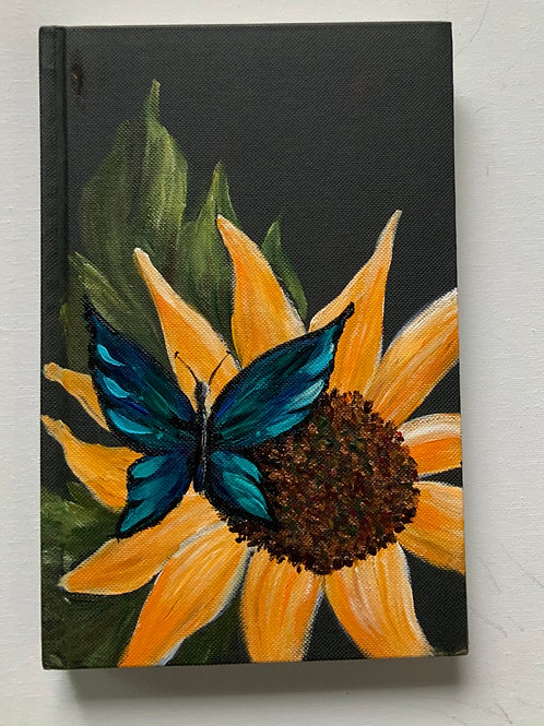 Butterfly and Sunflower Journal