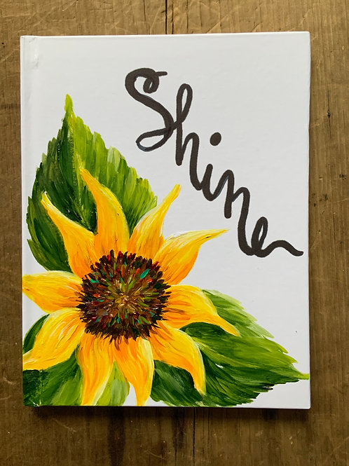 Shine Sunflower Journal