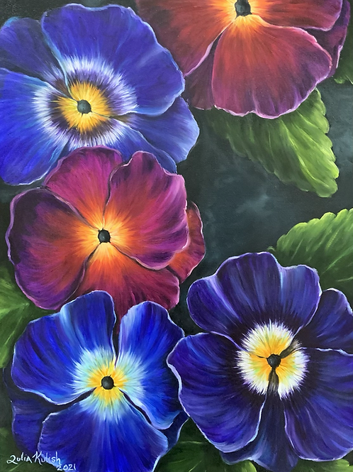 Spring's Arrival (Pansy)