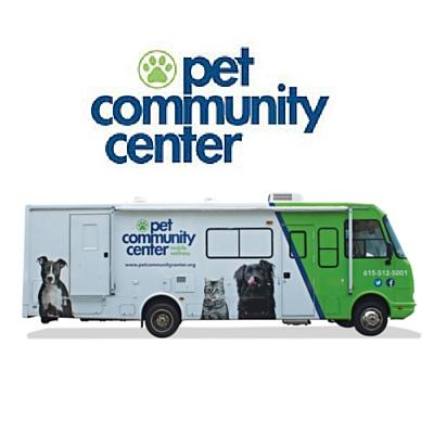 Pet Community Center's Art-o-Mobile!