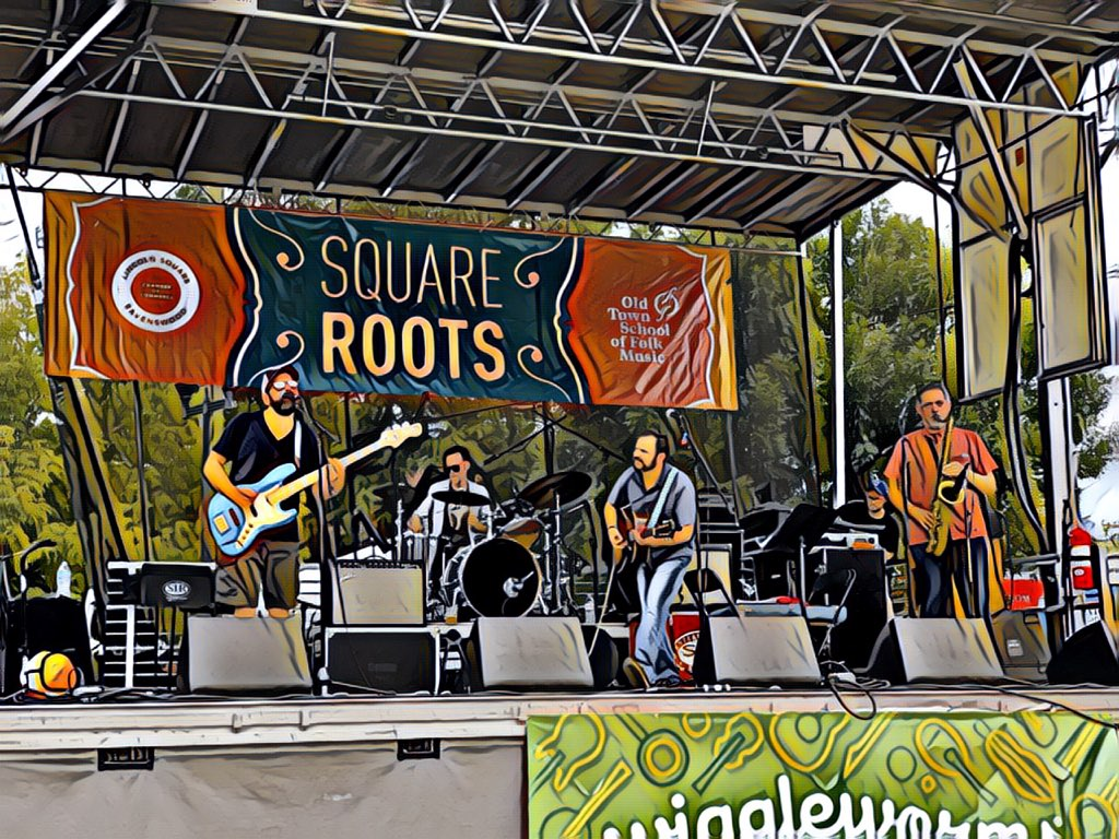 Full Band Show @ Square Roots