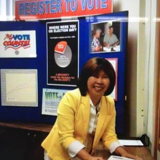 Choon is a longtime activist at City Hall