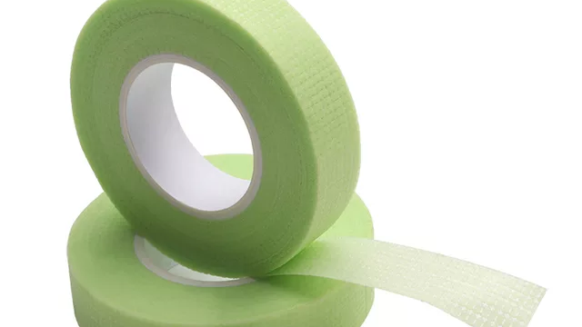 Green Medical Tape for eyelash extensions