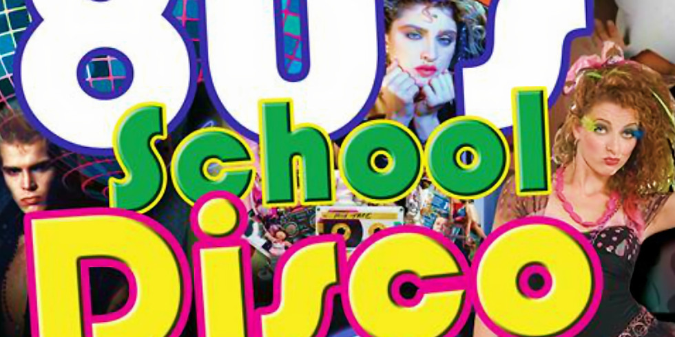 Jacs 80s School Disco with: DJs Benney & Egg + The Platinum Band