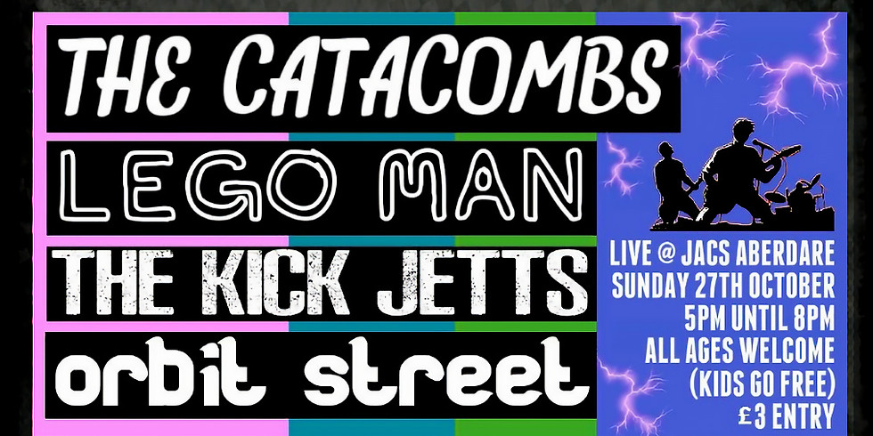 The Catacombs + Support (ALL AGES)