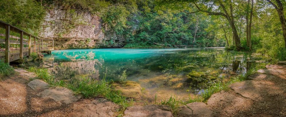 Blue Spring on the Jack's Fork River