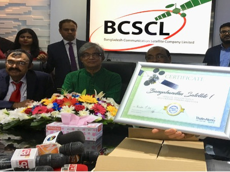 Bangabandhu Satellite-1 Project Successful Completion and Handover