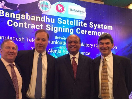 SPI Tops International Field of 30, to Win Bangladesh Satellite Prime Consultancy