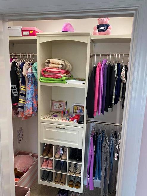 Closet Organization Installs