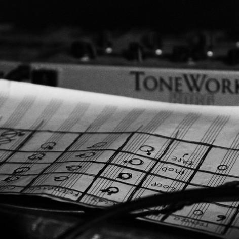 Korg Tone Works External FX - Post - EP Recording - 2014