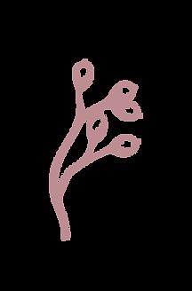 piirretty oksa