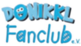 Donikkl Fanclub logo, Kindern helfen und mit Donikkl und Band Spaß haben, Kindermusik