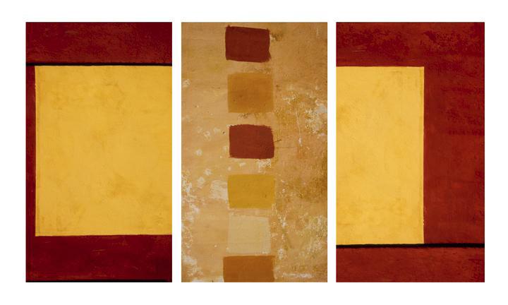 Geoffrey Baris Art -  Triptych 7