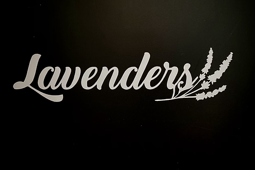 Lavender's Decal