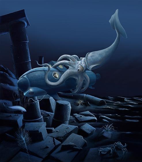 vingt mille lieues sous les mers, Luc Favreau