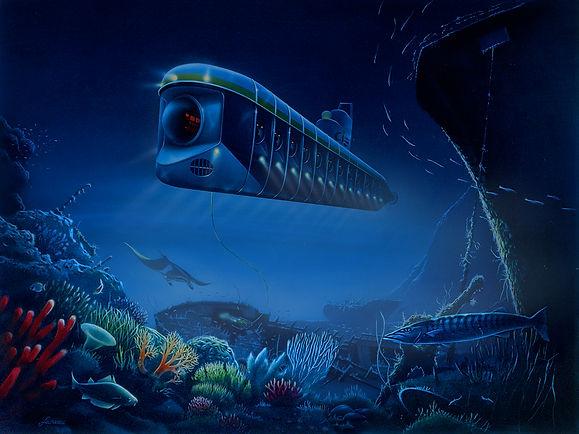 Sous-marin, Luc Favreau