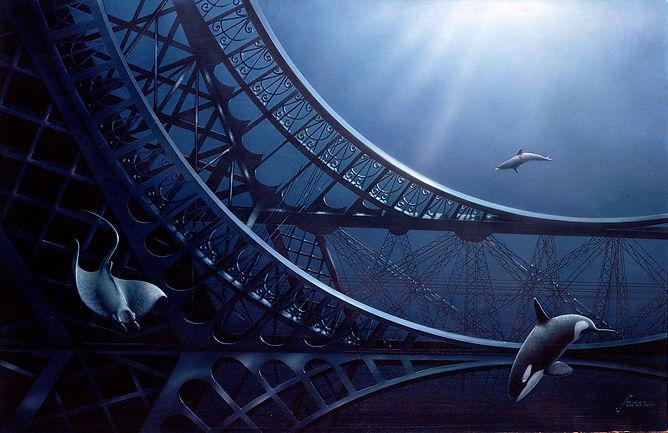 dessin Tour Eiffel, Luc Favreau