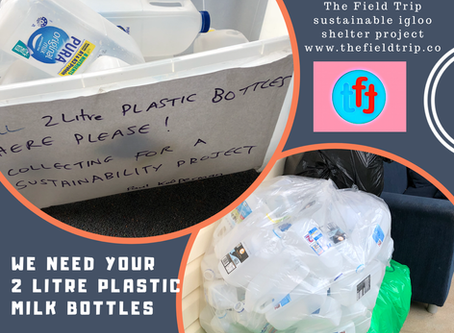 We need your plastic milk bottles!