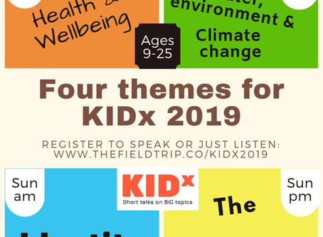 KIDx themes have been chosen