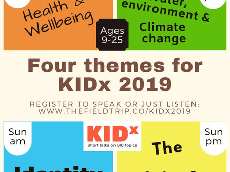 KIDx themes have been chosen