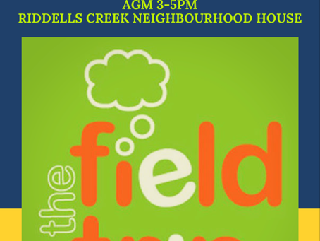 Save the date: Field Trip AGM