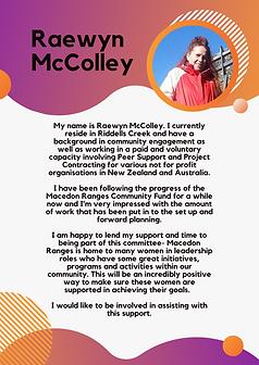 Raewyn McColley